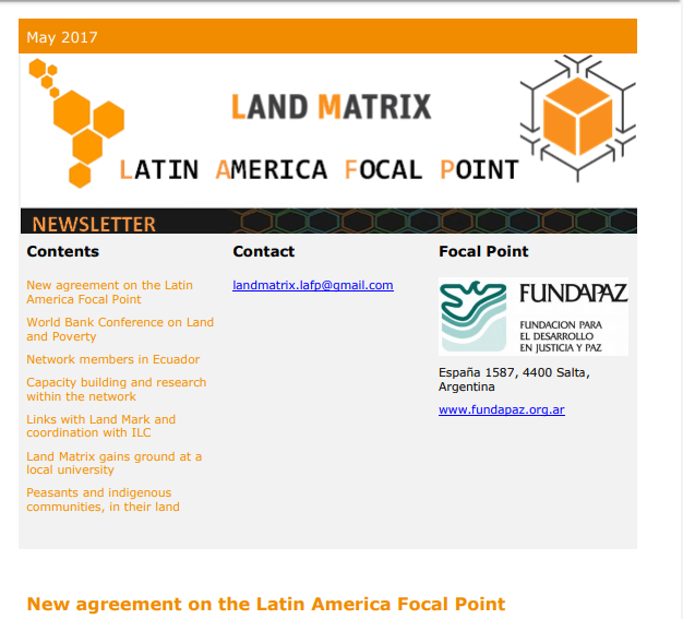 24 - May 2017 Land Matrix LAFP