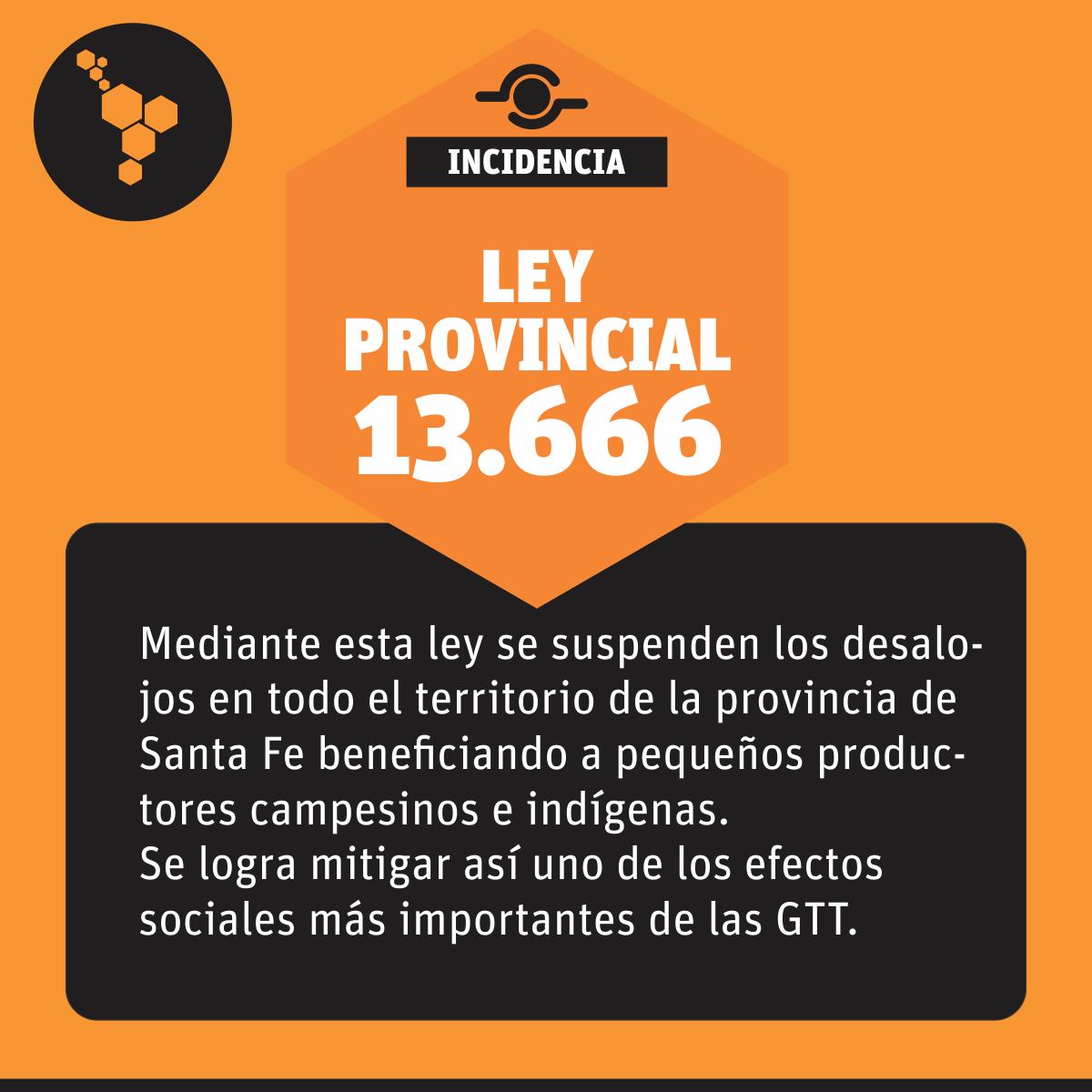 Ley 13.666 - LandMatrixLAC 8