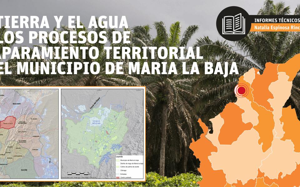 Acaparamiento de tierras Maria la Baja
